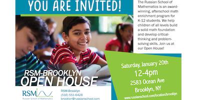 Russian School of Mathematics Brooklyn Open House