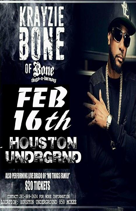 Krayzie Bone of Bone Thugs and Harmony