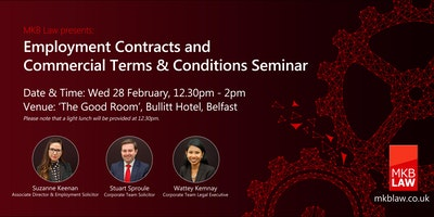 Employment Contracts and Commercial Ts & Cs