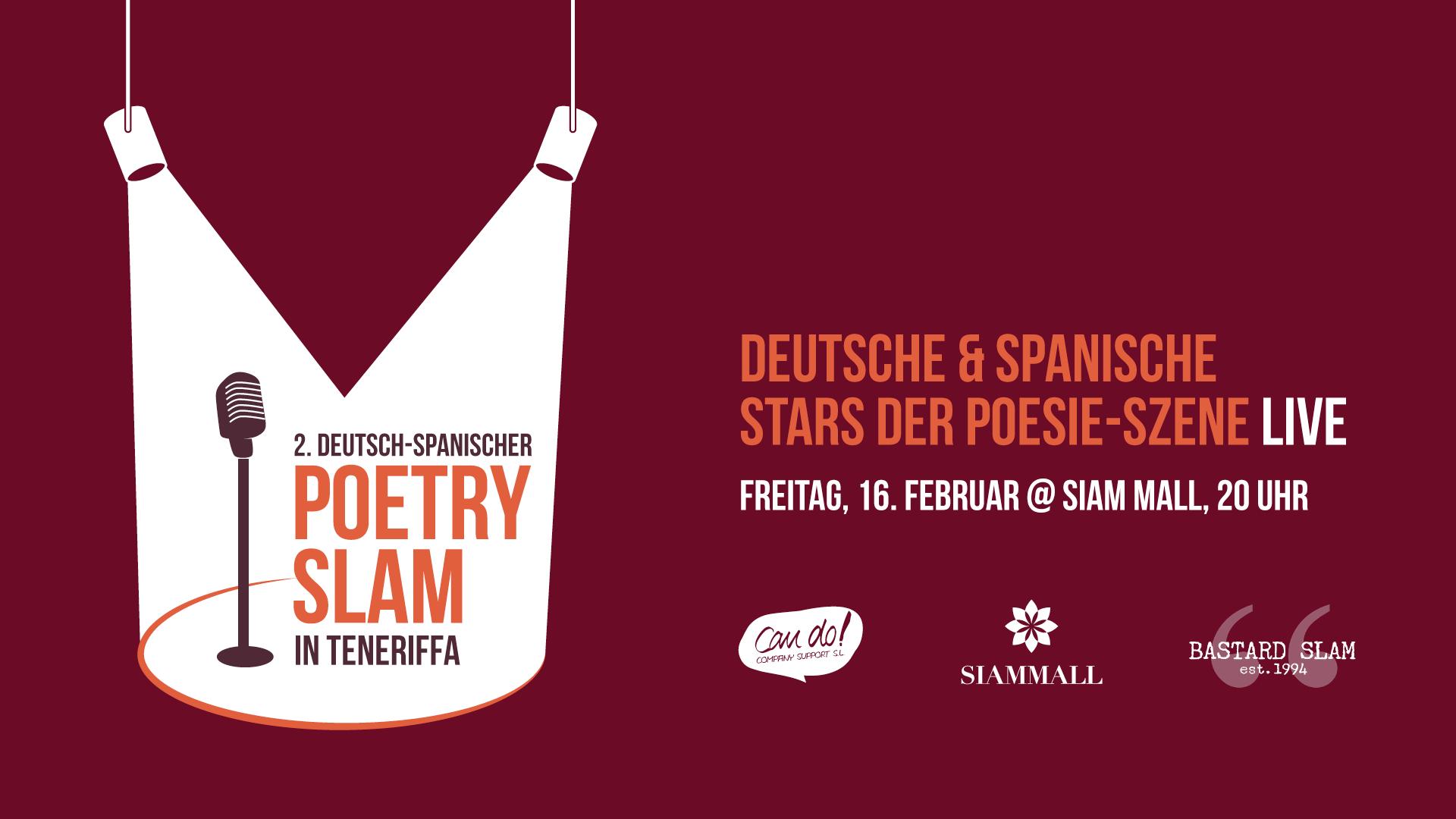 2. Deutsch-Spanischer Poetry Slam in Teneriffa - 16 FEB 2018