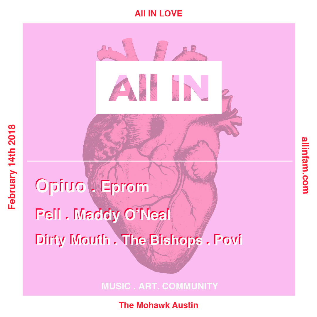 All IN LOVE featuring Opiuo