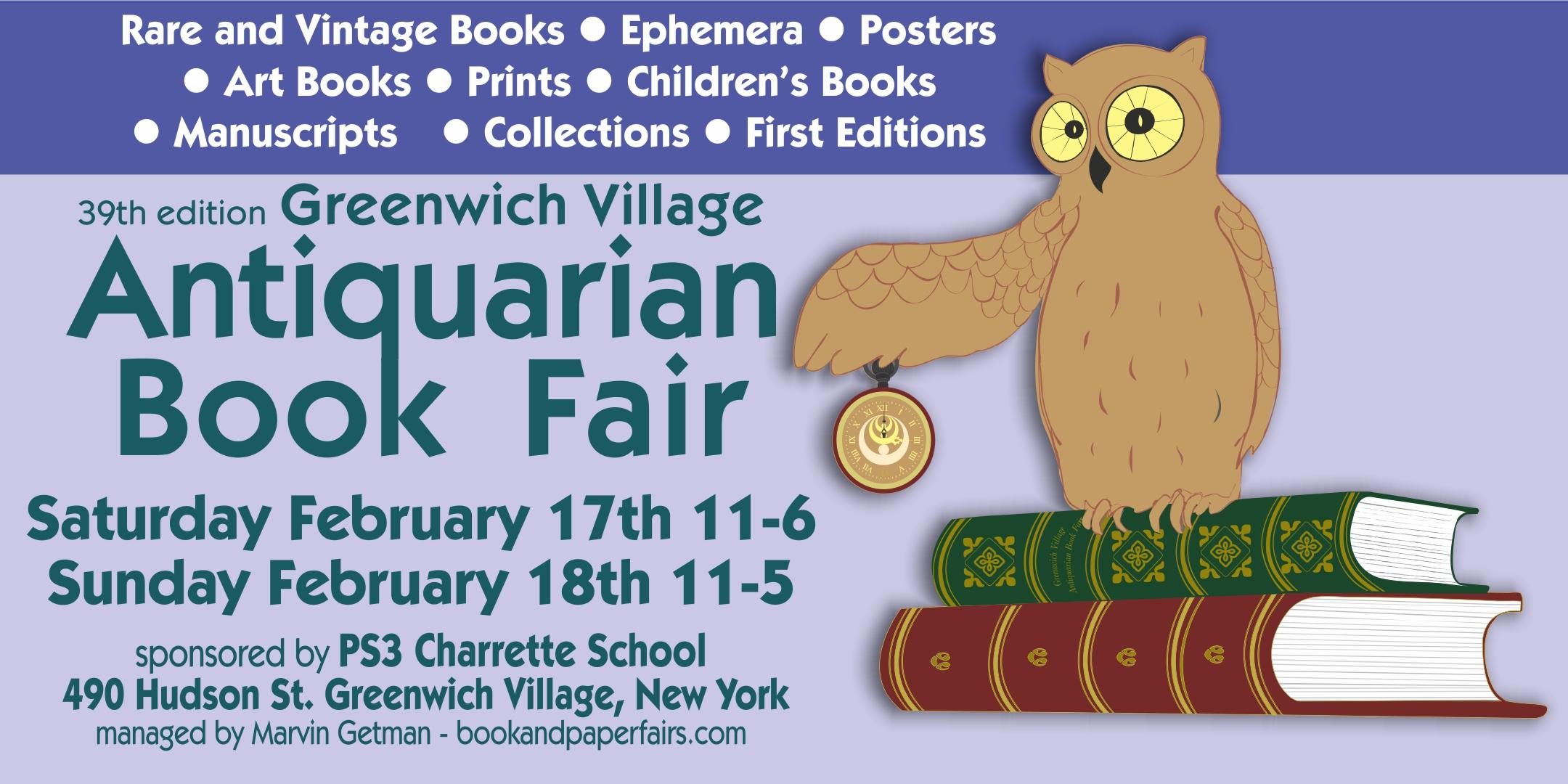 Greenwich Village Antiquarian Book Fair - $5