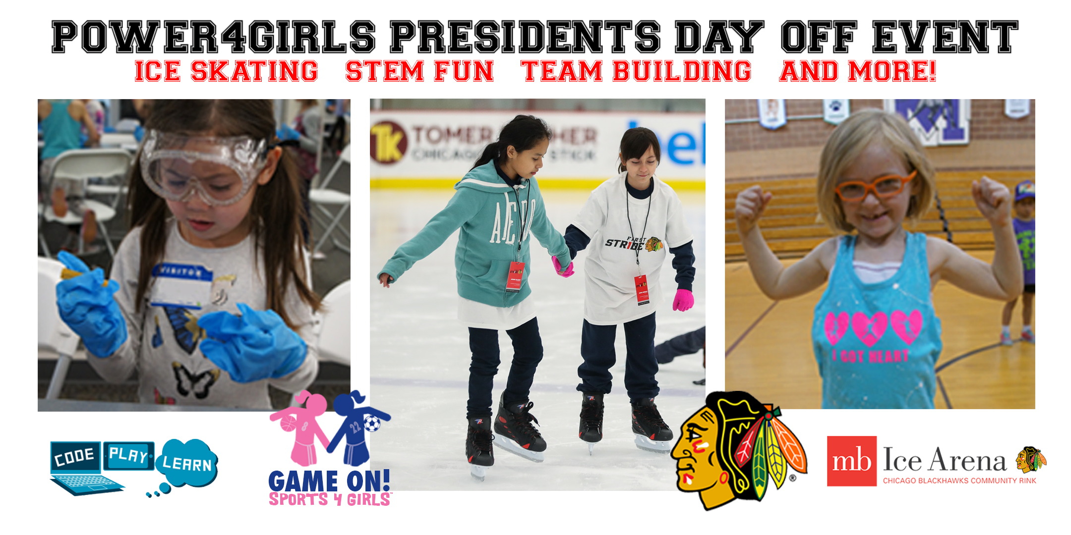 Power4Girls Presidents Day Off Event 2018 - C