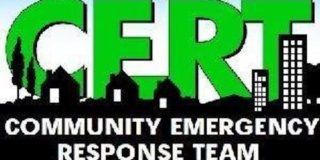 Equipo de Respuestas a Emergencias Comunitarias tickets