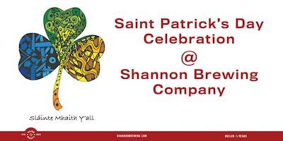 Saint Patrick's Day Festival @ Shannon Brewing Company