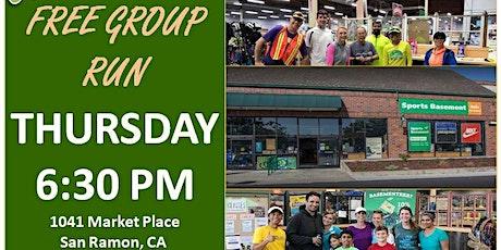 San Ramon, CA: Trivalley Running Club Fun Group Run at Sports Basement tickets
