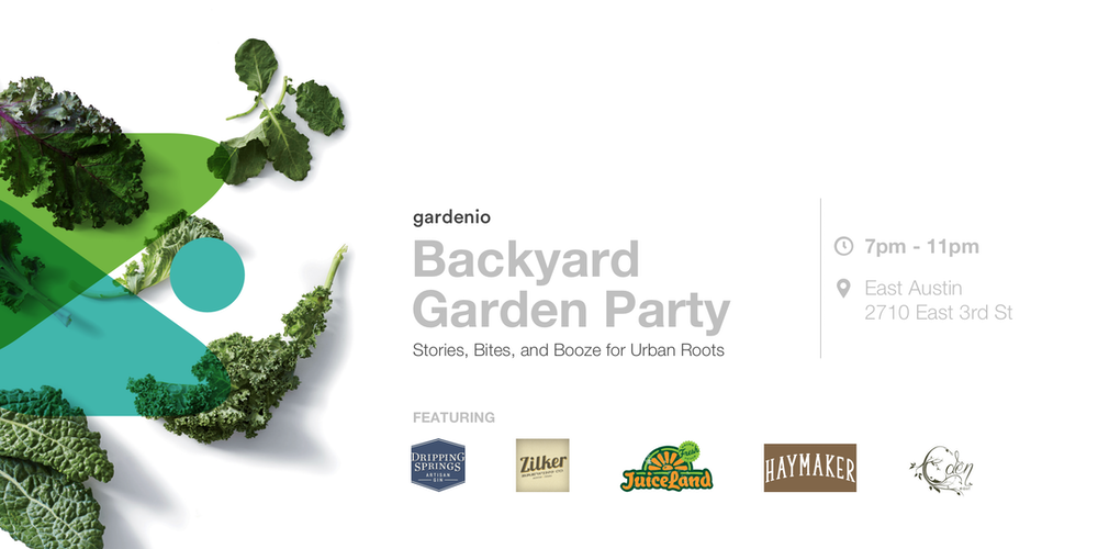 Backyard Garden Party Stories Booze Bites For Urban Roots Tickets