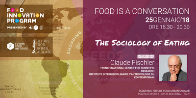 FOOD IS A CONVERSATION con Claude Fischler