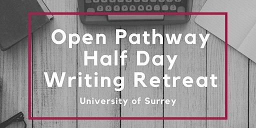 SET Framework Open Pathway Half Day Writing Retreats - various dates