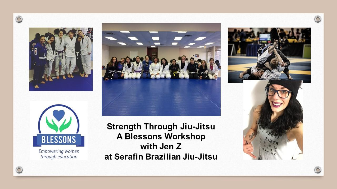Strength Through Jiu-Jitsu with Jen Z