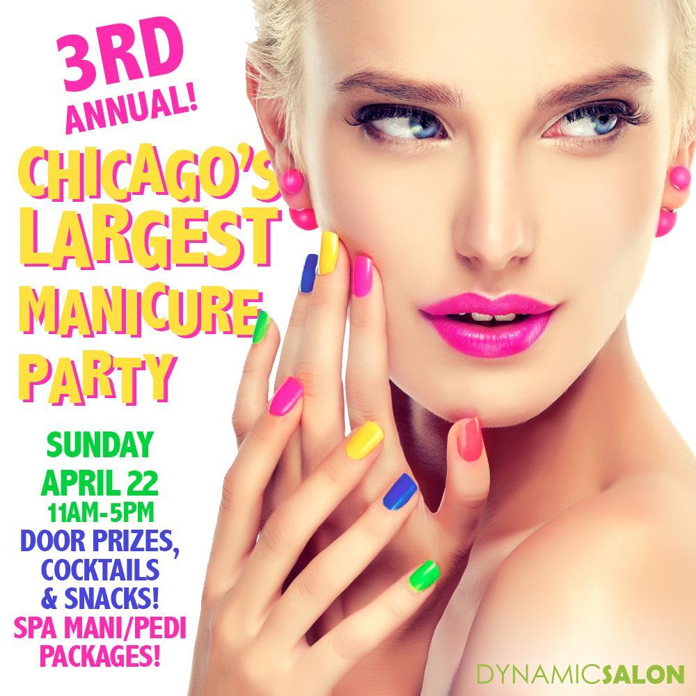 Chicago\'s Largest Manicure Party! - 22 APR 2018
