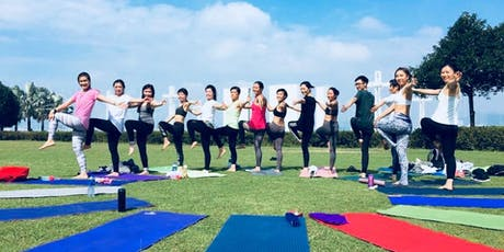 OMIYOGA - Go Green Outdoor Yoga Practice tickets