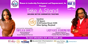 Take A Stand: Building Better Communities Together