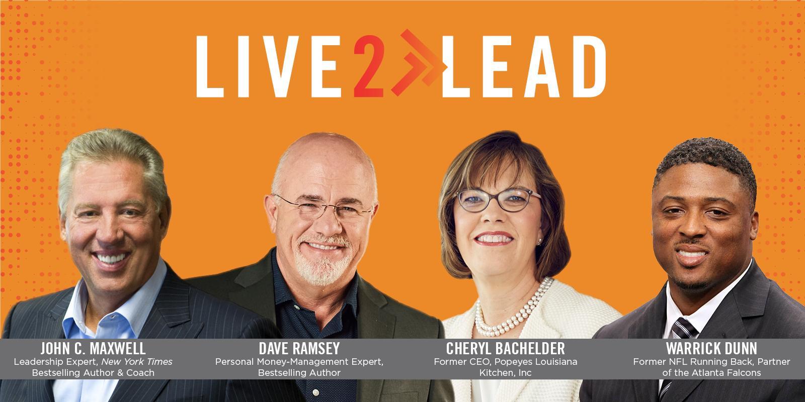 Dr John C Maxwells Live2Lead rebroadcast even