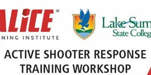 ALiCE Active shooter response training...