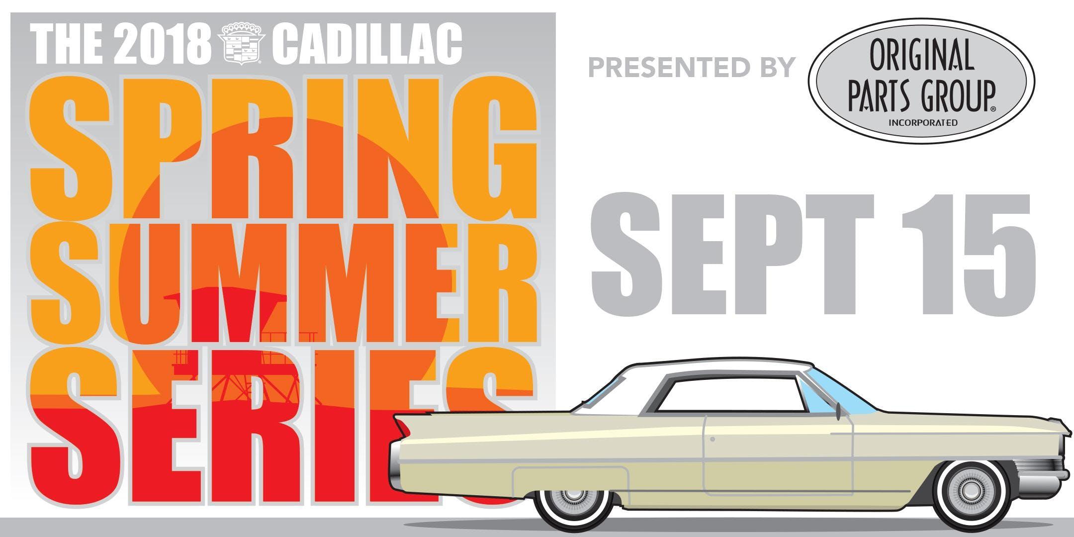 CADILLAC Car Show Car Registration SEP - Orange beach car show 2018