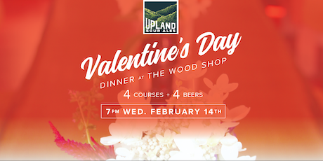 valentines day dinner the wood shop tickets
