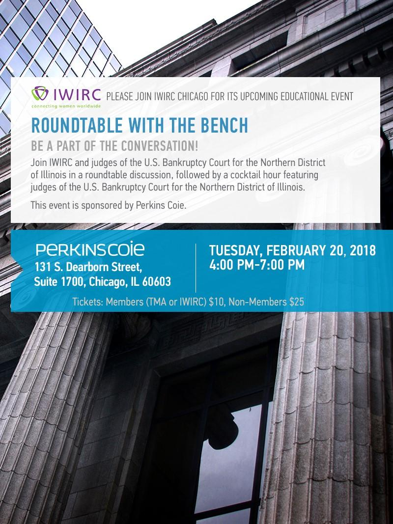 Roundtable with the Bench, an IWIRC education