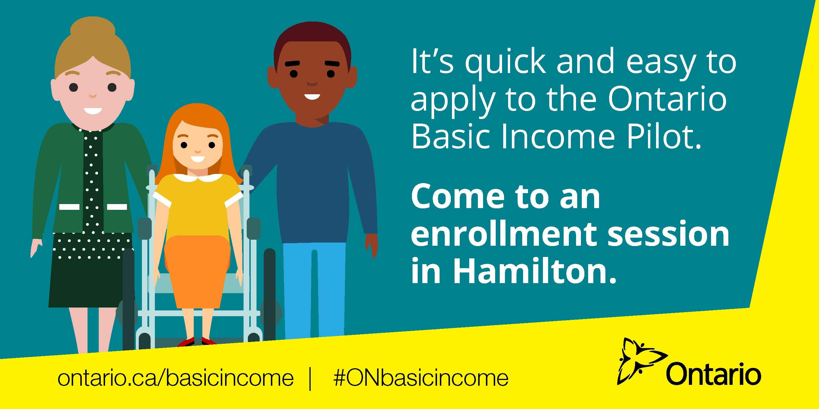 Ontario Basic Income Pilot Enrollment Session