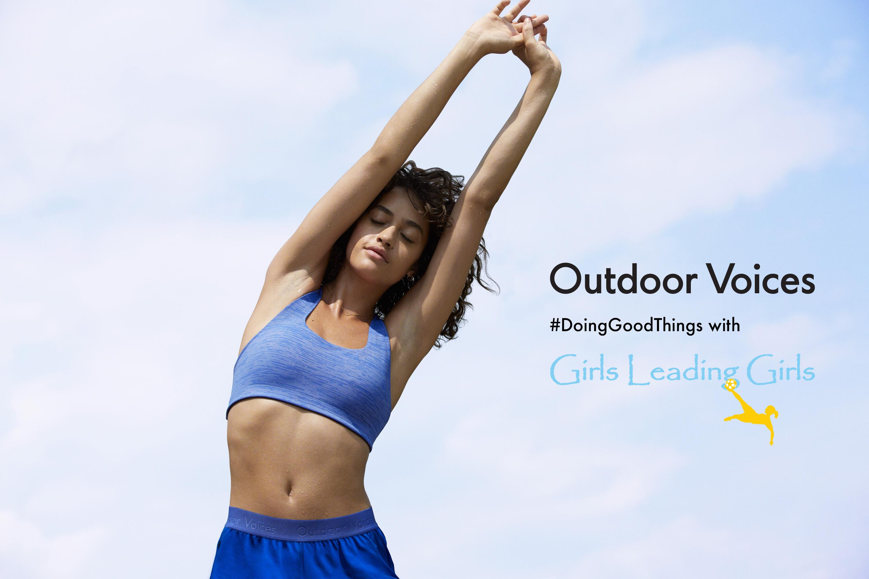 Shopping Event at Outdoor Voices Benefiting Girls Leading Girls