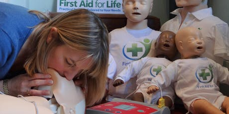 Emergency First Aid (adults, babies and children) - London tickets