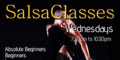 Cannock Wednesday Night Salsa Classes