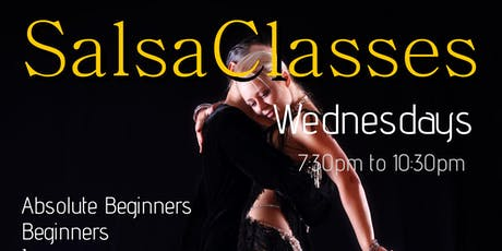 Cannock Wednesday Night Salsa Classes tickets