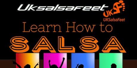 Stourbridge Beginners Salsa Lessons Thursday tickets