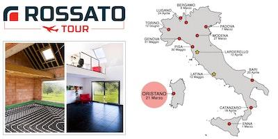 Rossato Tour Oristano: raffrescamento radiante, deumidificazione, regolazione