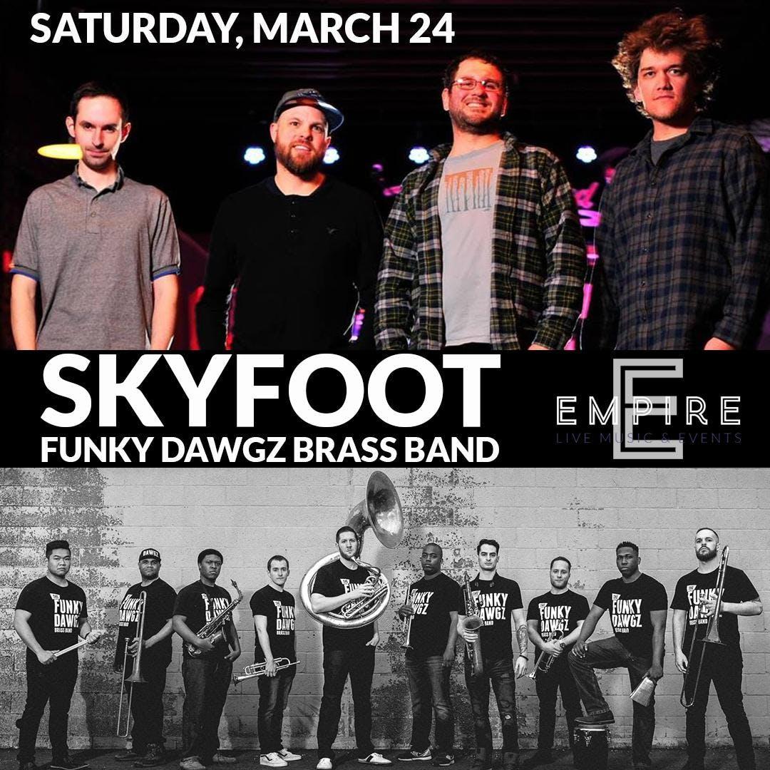 Skyfoot w/ The Funky Dawgz Brass Band