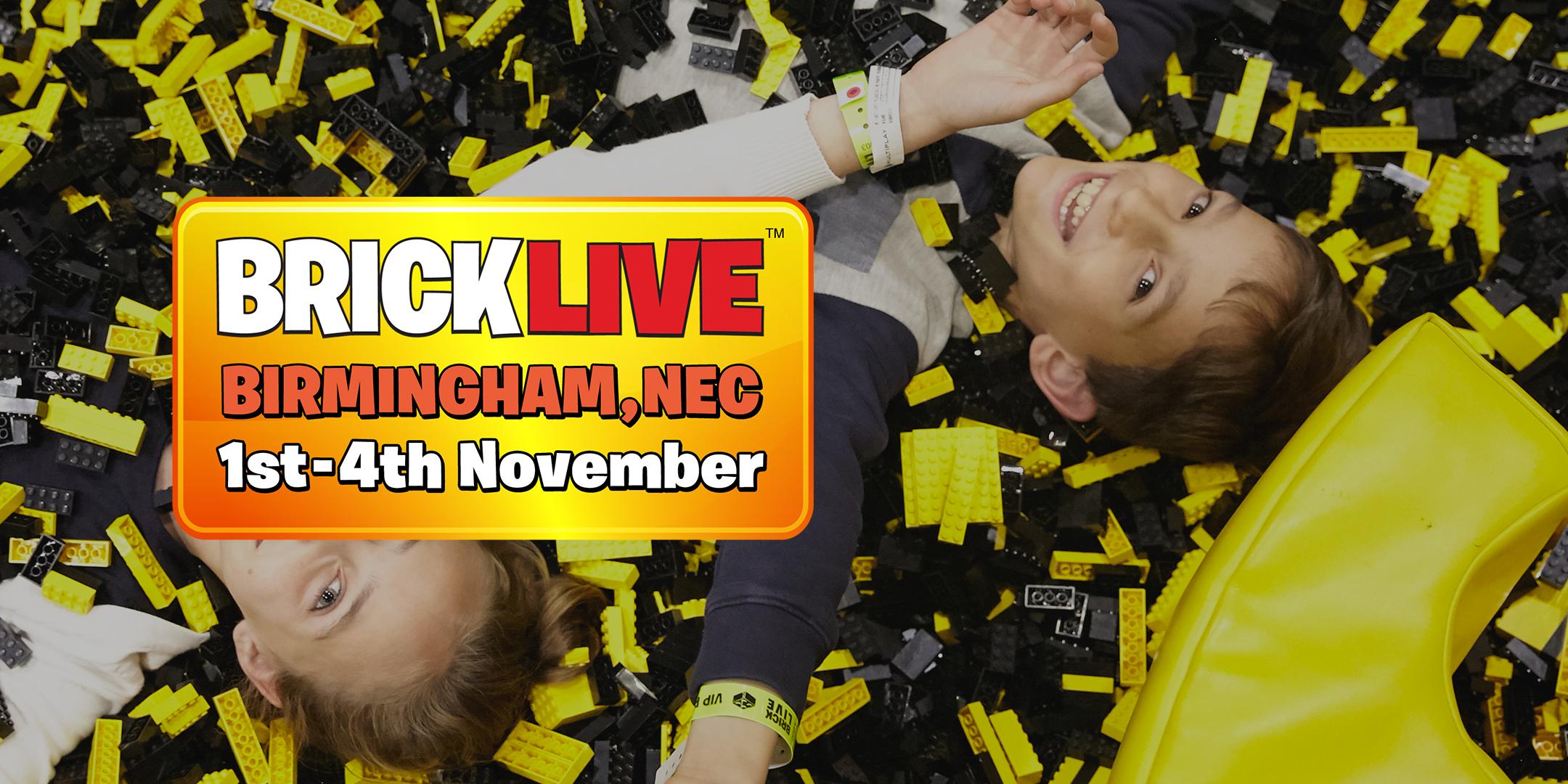 BRICKLIVE Built for LEGO® Fans - Birmingham