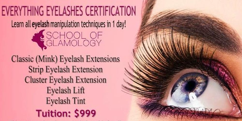 Atlanta Ga Everything Eyelashes Certification Tickets Multiple