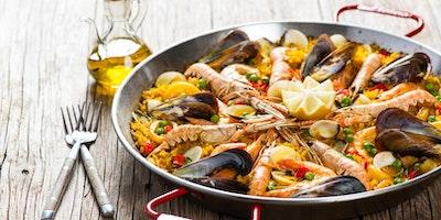Paella, Churro's and Sangria