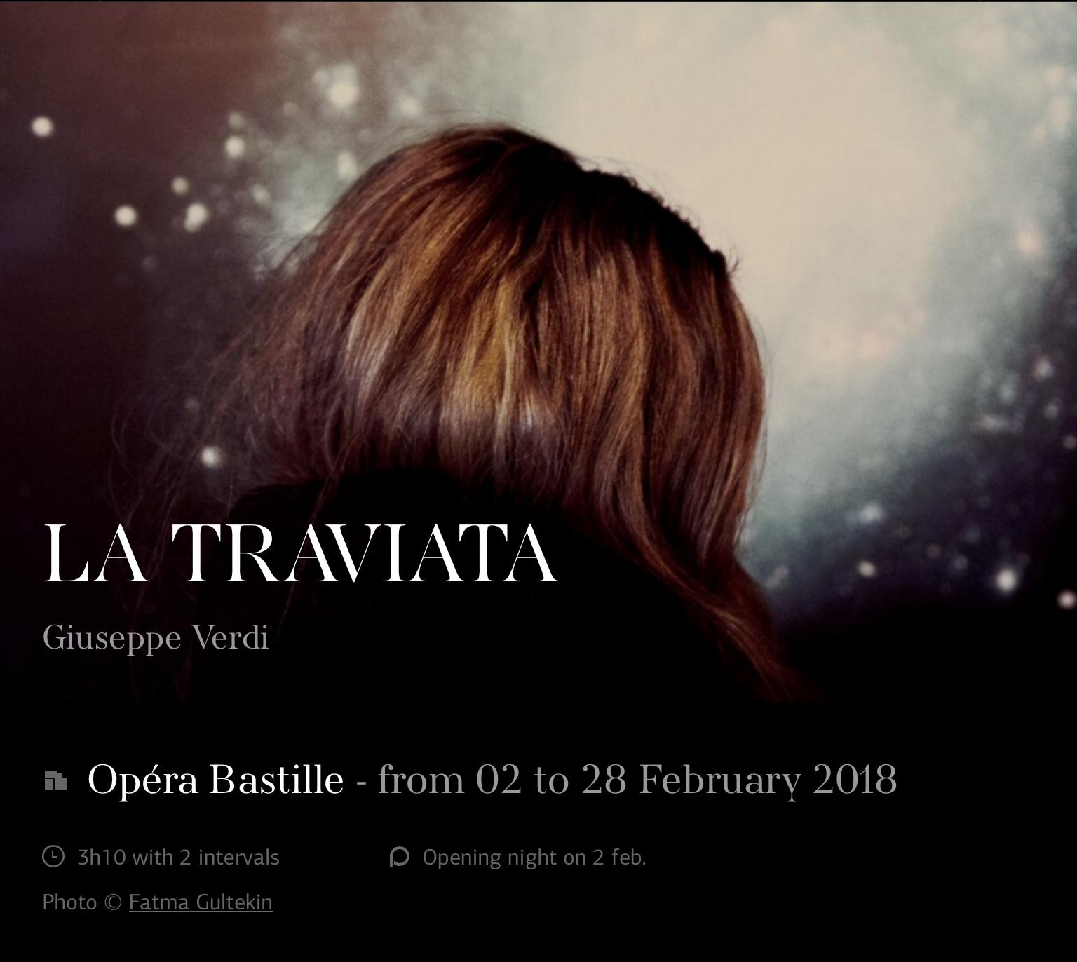 La Traviata @ Opéra National de Paris, France