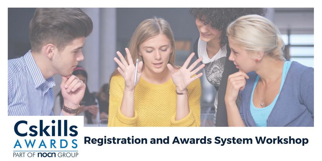 NOCN Registration and Awards System Workshop