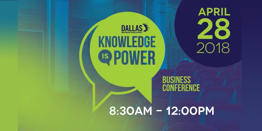 Dallas tx business conference events eventbrite knowledge is power conference blueprint for business excellence tickets malvernweather Gallery