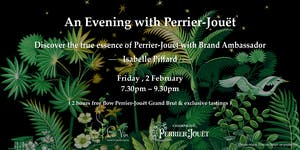An Evening with Perrier-Jouët - 2 Hours Free Flow