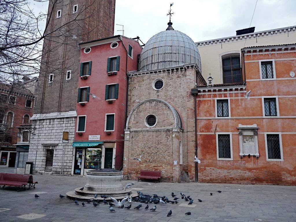 Afternoon Campo SS Apostoli - Venice through