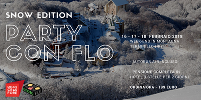 Party con Flo - Snow Edition  - Terminillo Rieti