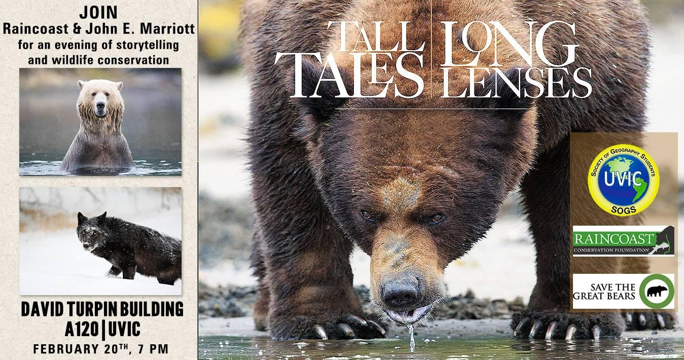 Tall Tales, Long Lenses and Conservation - Vi