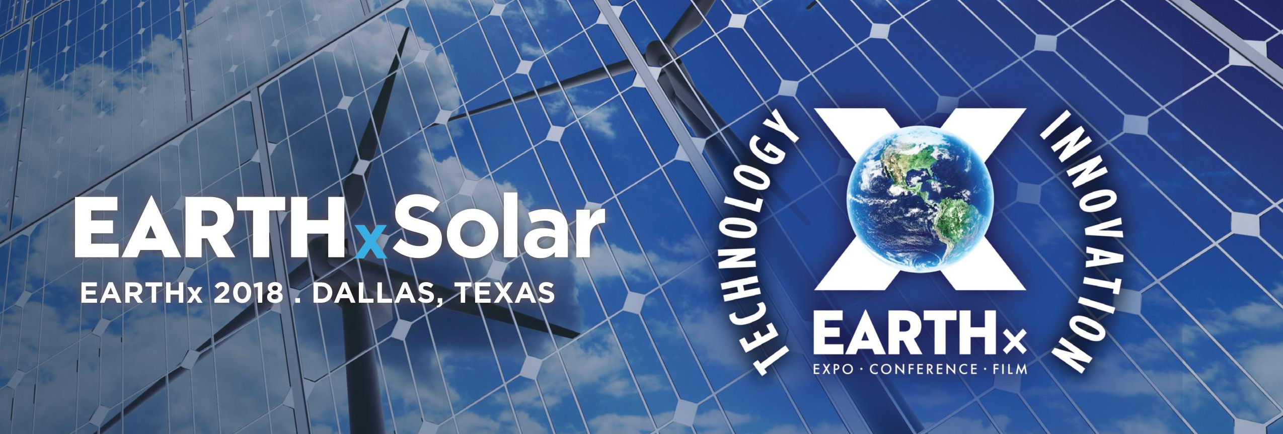 EARTHxSOLAR 2018: Register Your Interest
