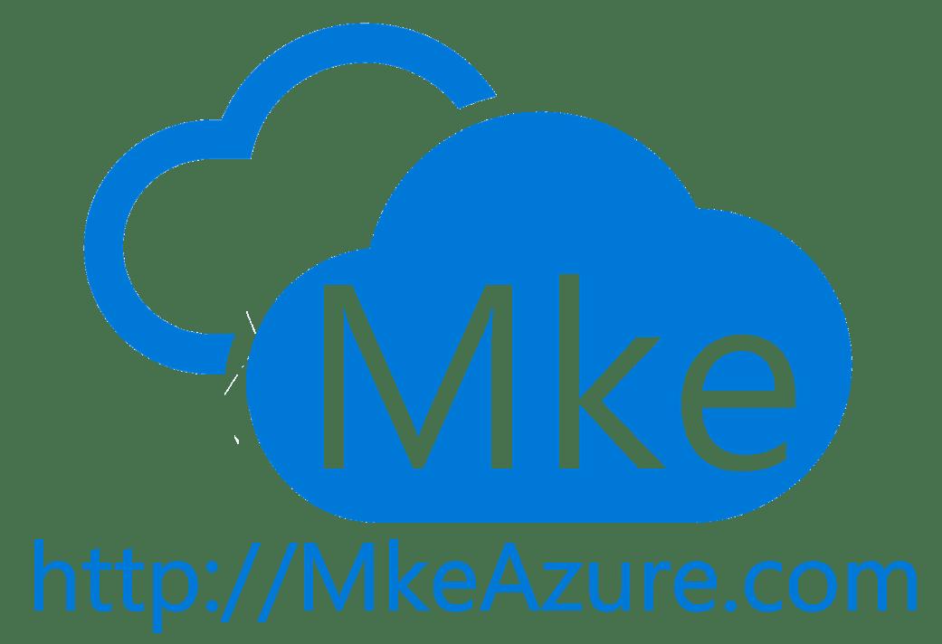 2018 Milwaukee Global Azure Bootcamp Day