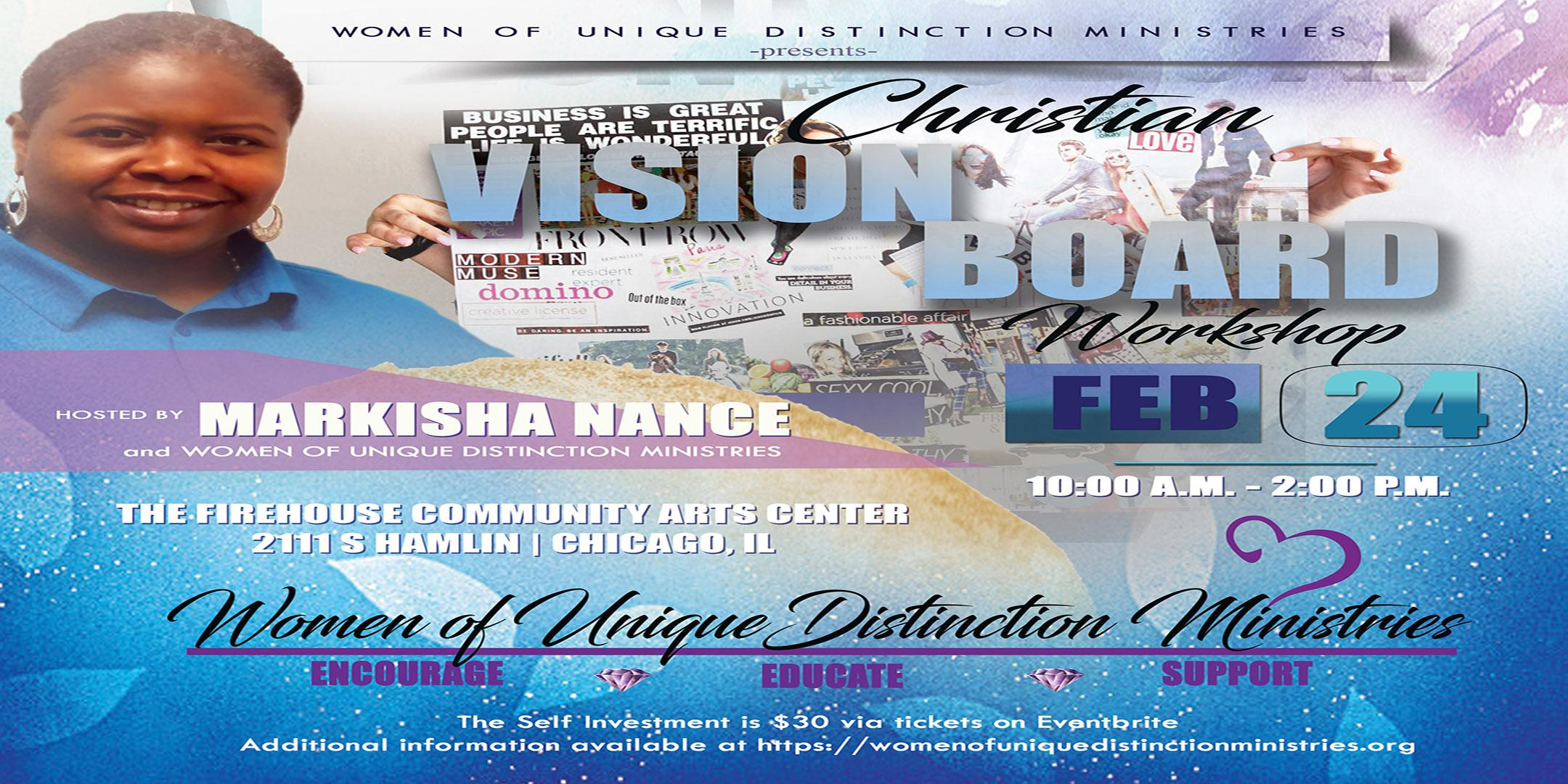 Write the Vision: Christian Vision Board Work
