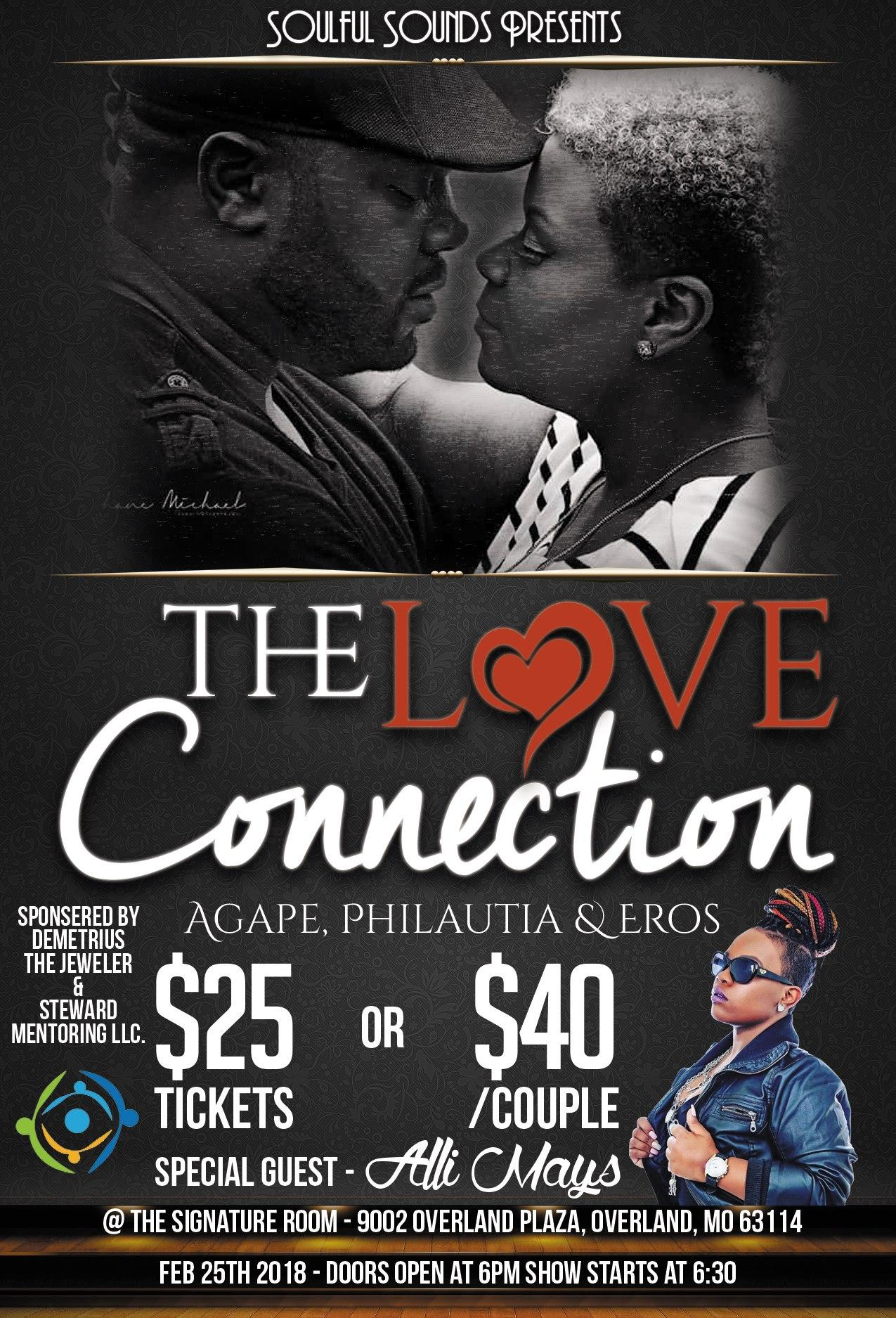 The Love Connection, Agape, Philautia & Eros
