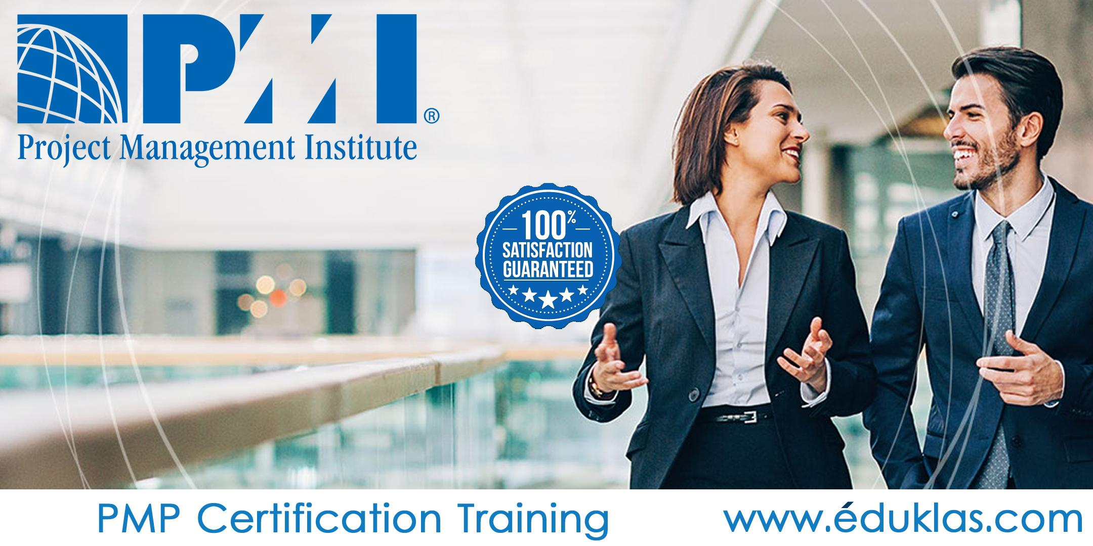 PMI - PMP® Certification Training Course in New Haven,CT|Eduklas