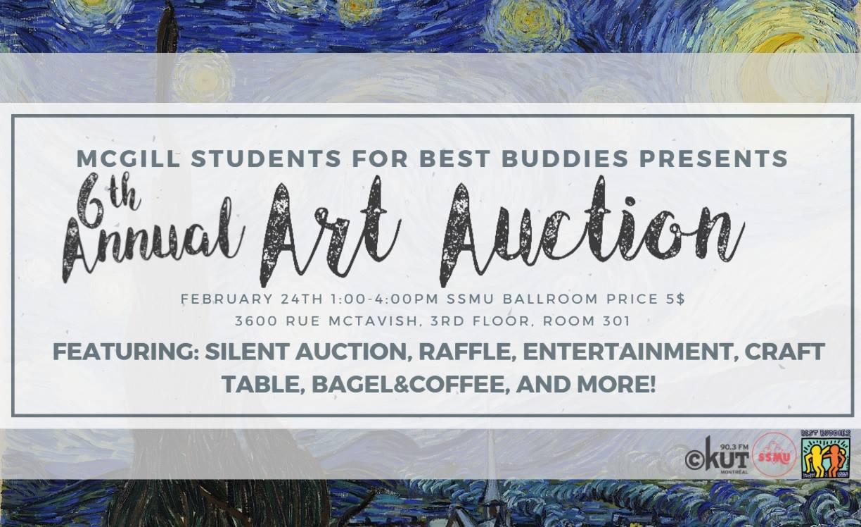 Best Buddies 6th Annual Art Auction