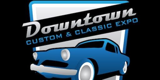 2019 Downtown Custom & Classic Exposition Vendor/Swapmeet/Comedy Tickets
