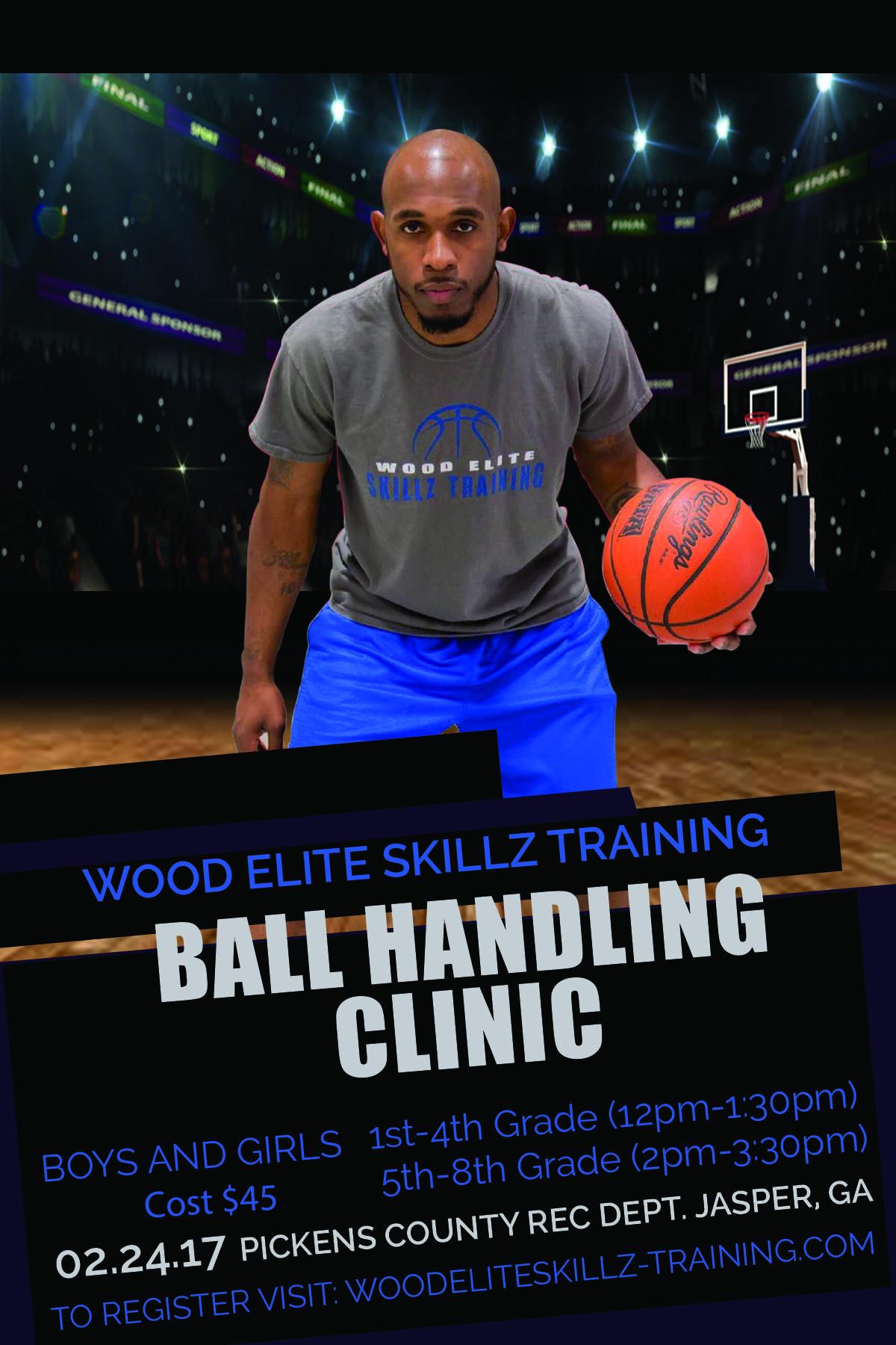 Wood Elite Skillz Ball Handling Clinic