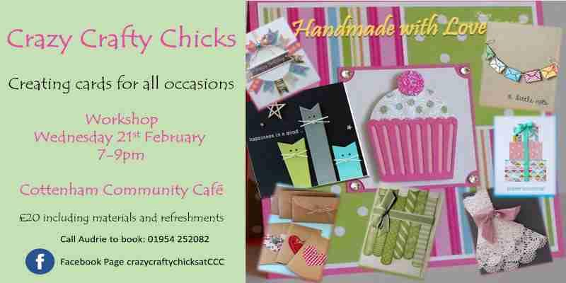 Crazy Crafty Chicks - Creating Cards for all