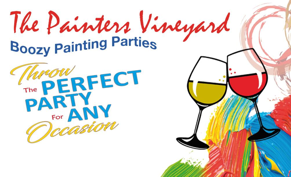 The Painters Vineyard Boozy Painting Parties